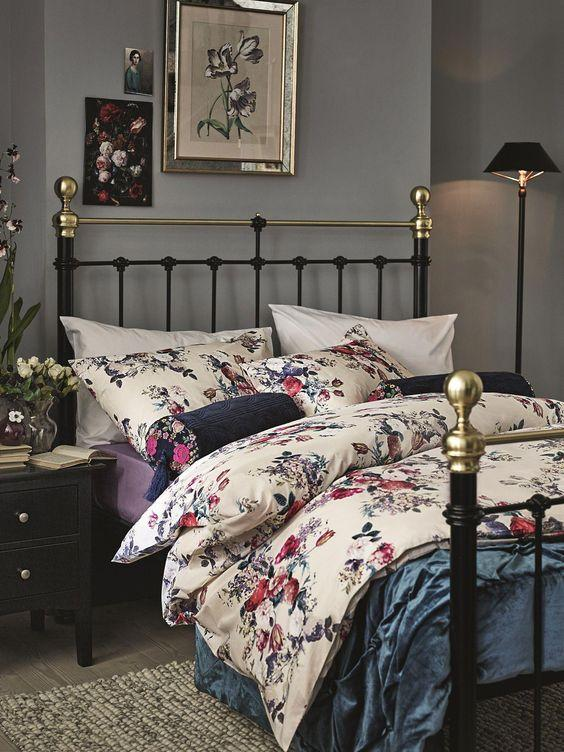 floral bedding granny chic
