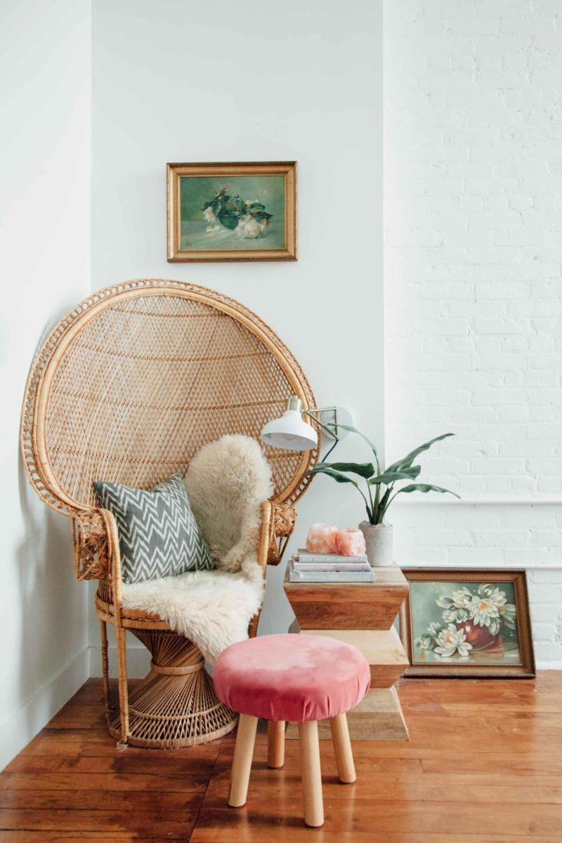 rattan chairs granny chic