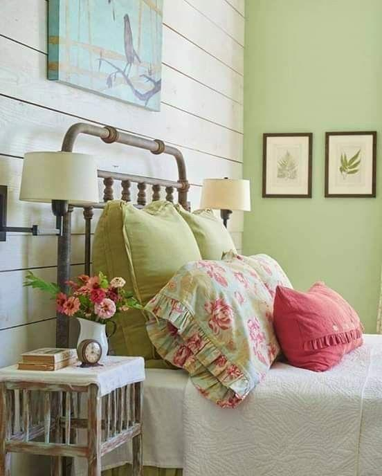 ruffled bedding granny chic