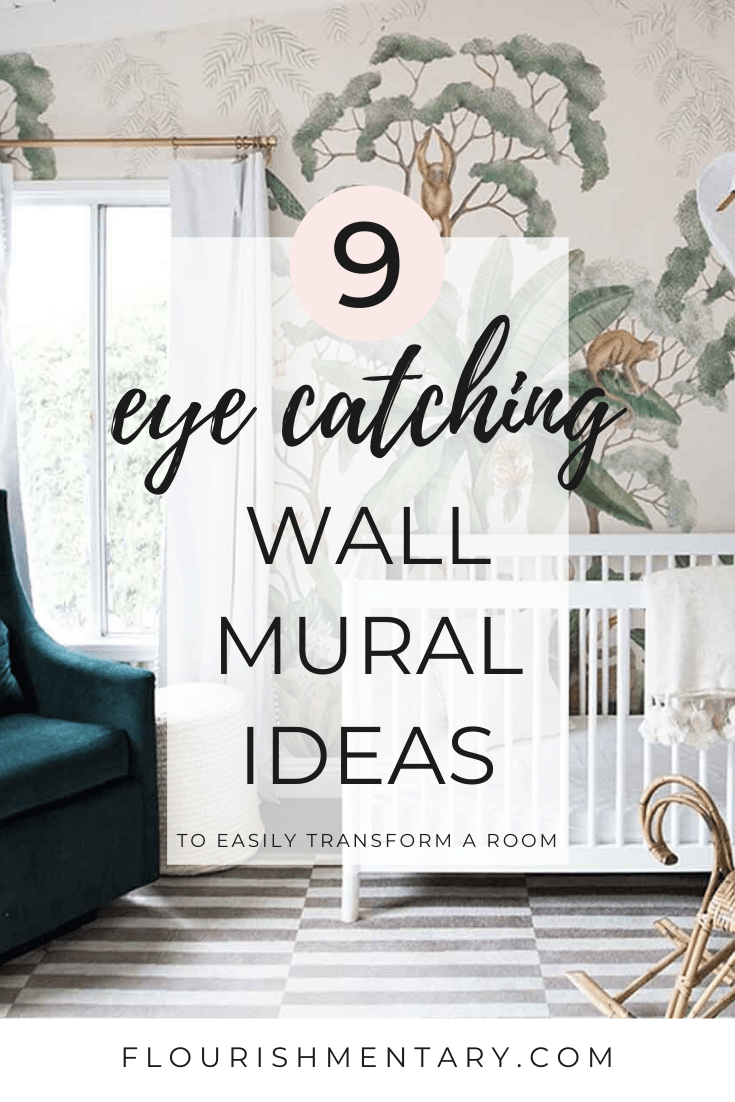 eye catching wall mural ideas