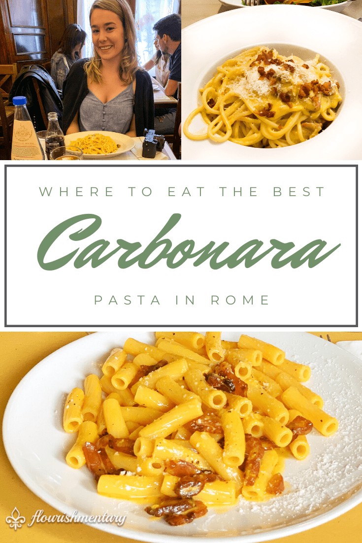 where to eat the best carbonara in rome