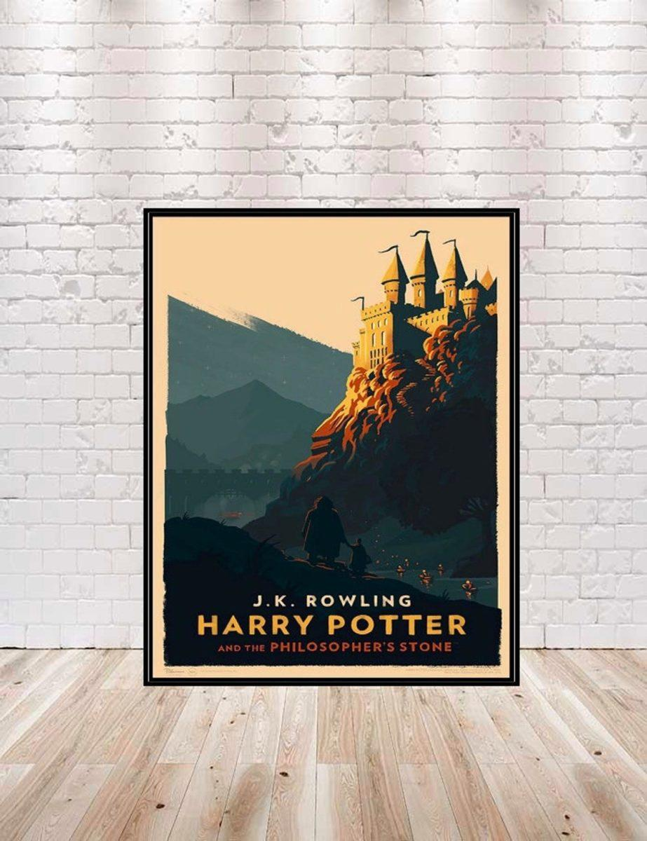harry potter decor wall art