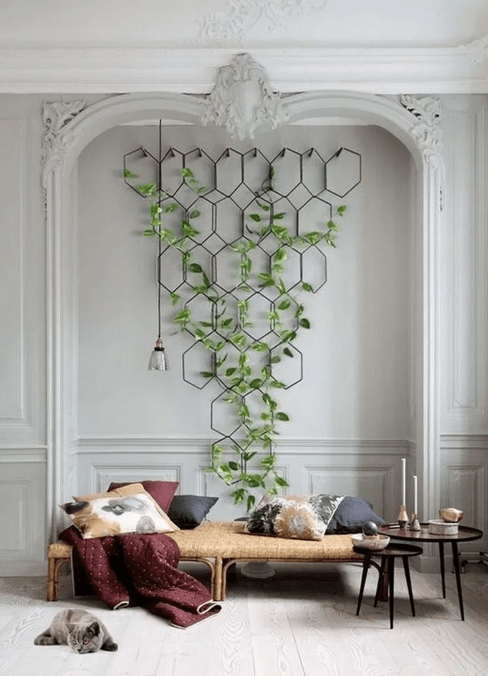 wall trellis decor
