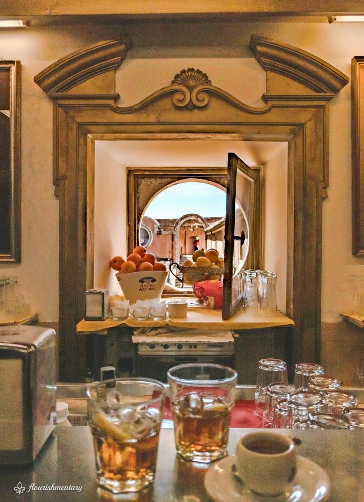 Castel Sant'Angelo cafe