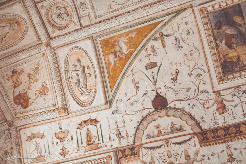 Castel Sant'angelo fresco