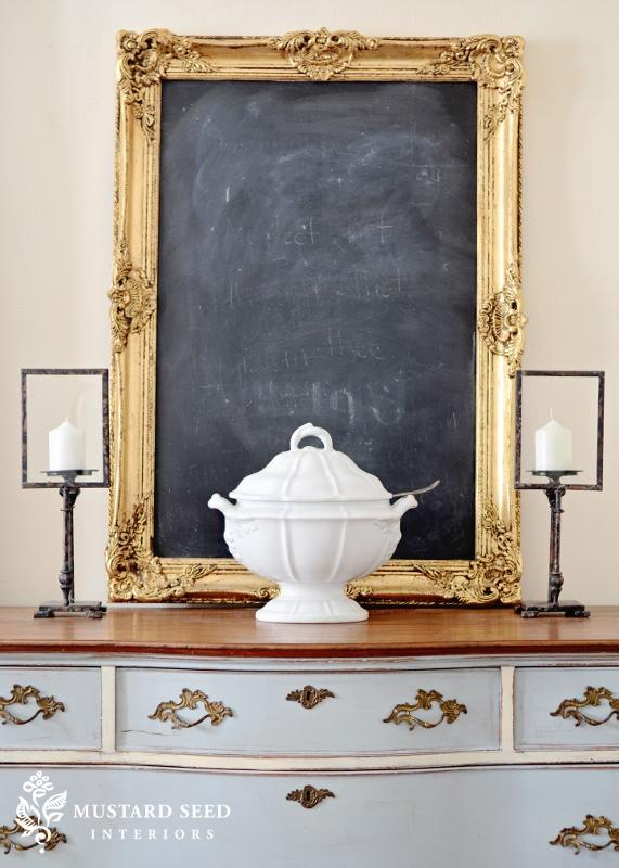 chalkboard wall idea
