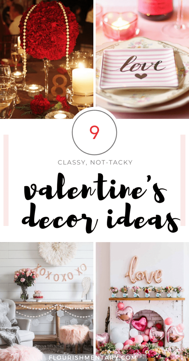valentine's day decor elegant