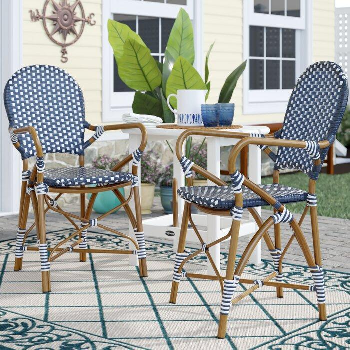 indoor outdoor french bistro chairs