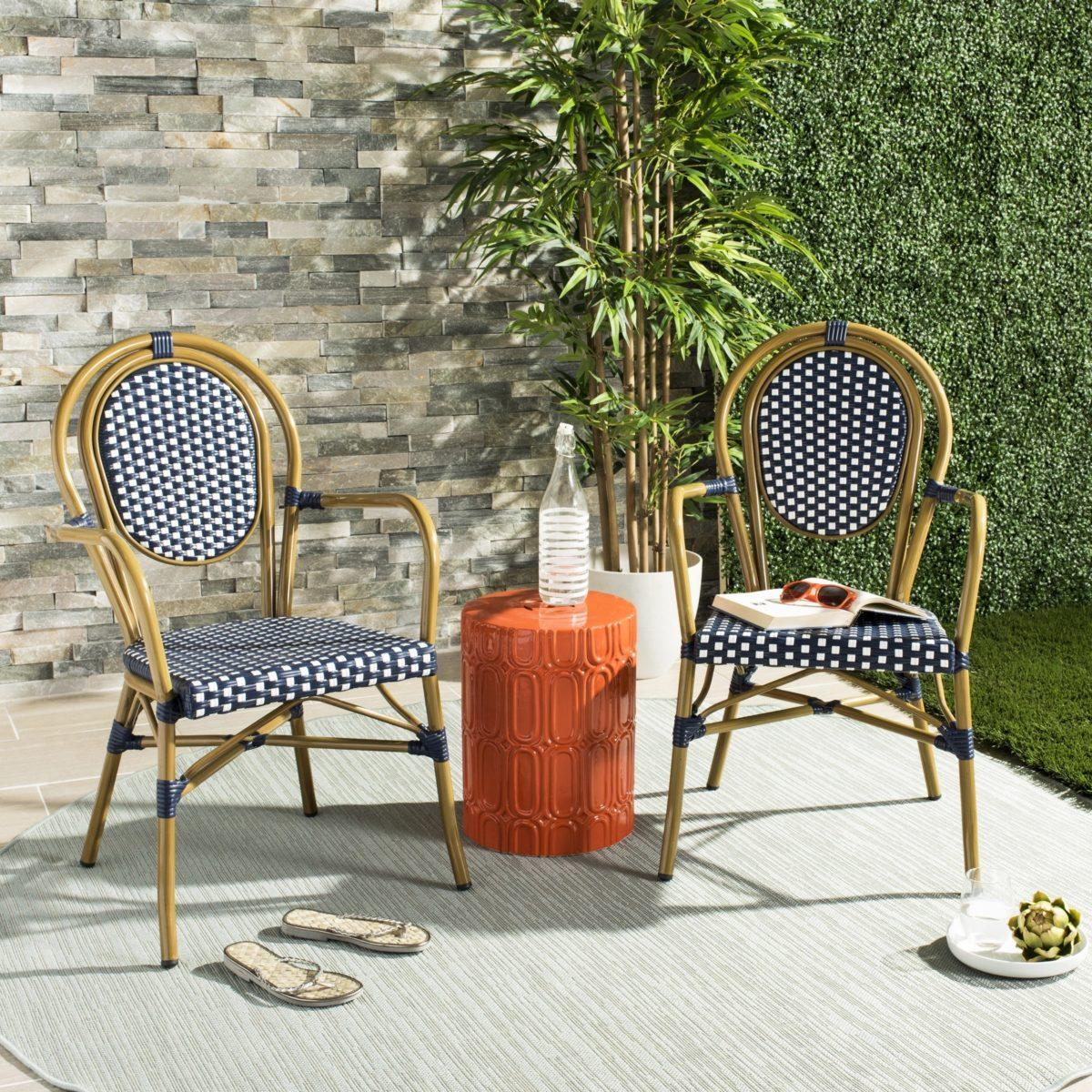french patio chairs