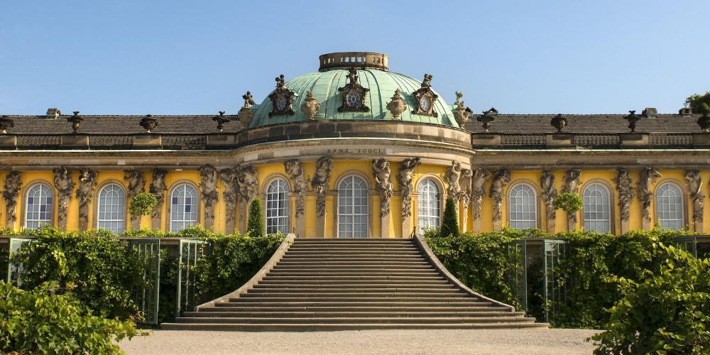Virtual Tour of The Sanssouci Palace