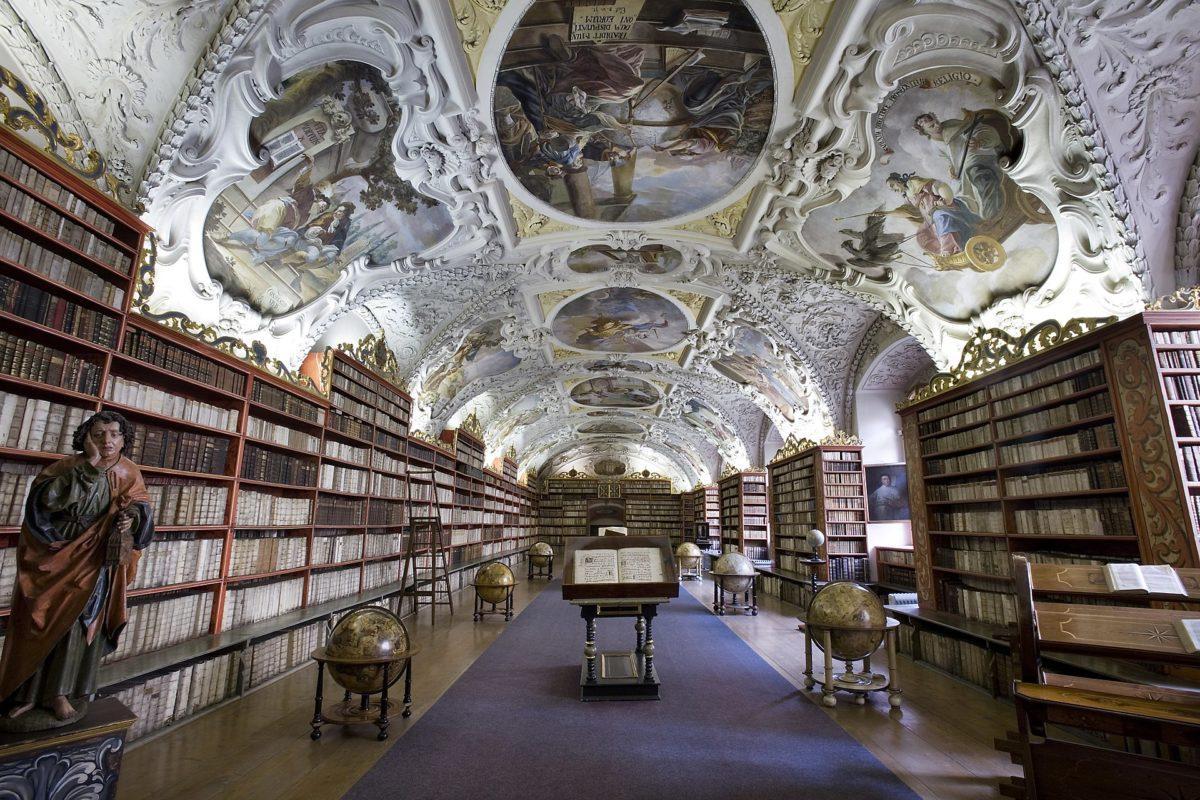 Strahov Monastery Library, Czech Republi