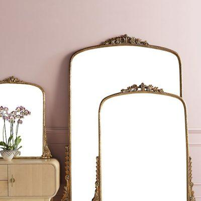 7 Chic Leaning Mirrors That Will Make Your Space Feel Bigger