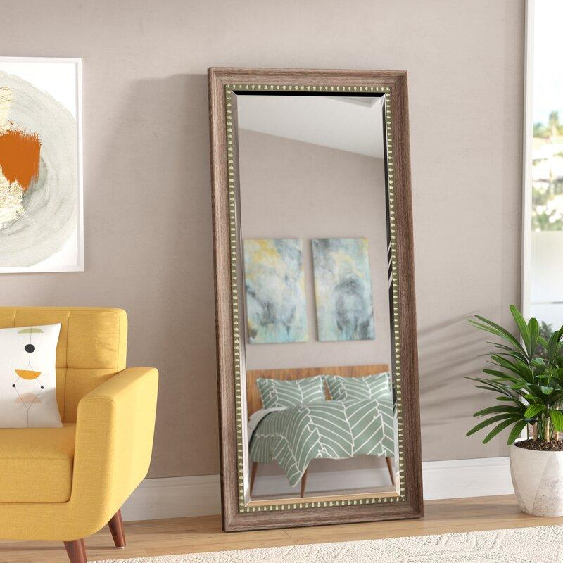 chic leaning mirror