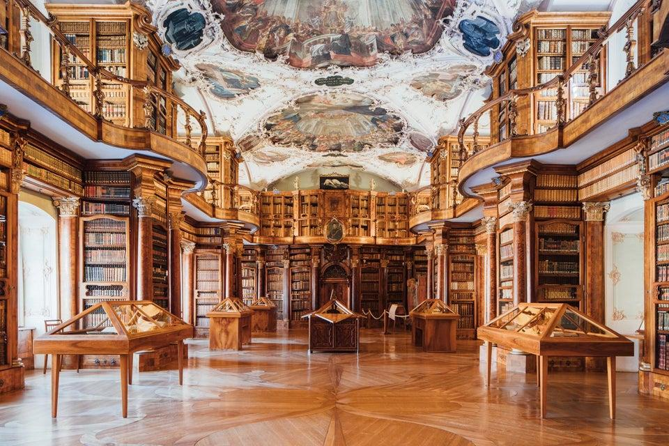 Abbey Library of Saint Gall, St. Gallen, Switzerland