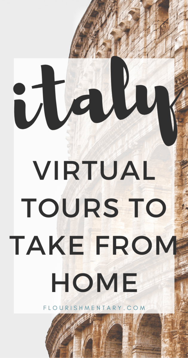 virtual tours of italy