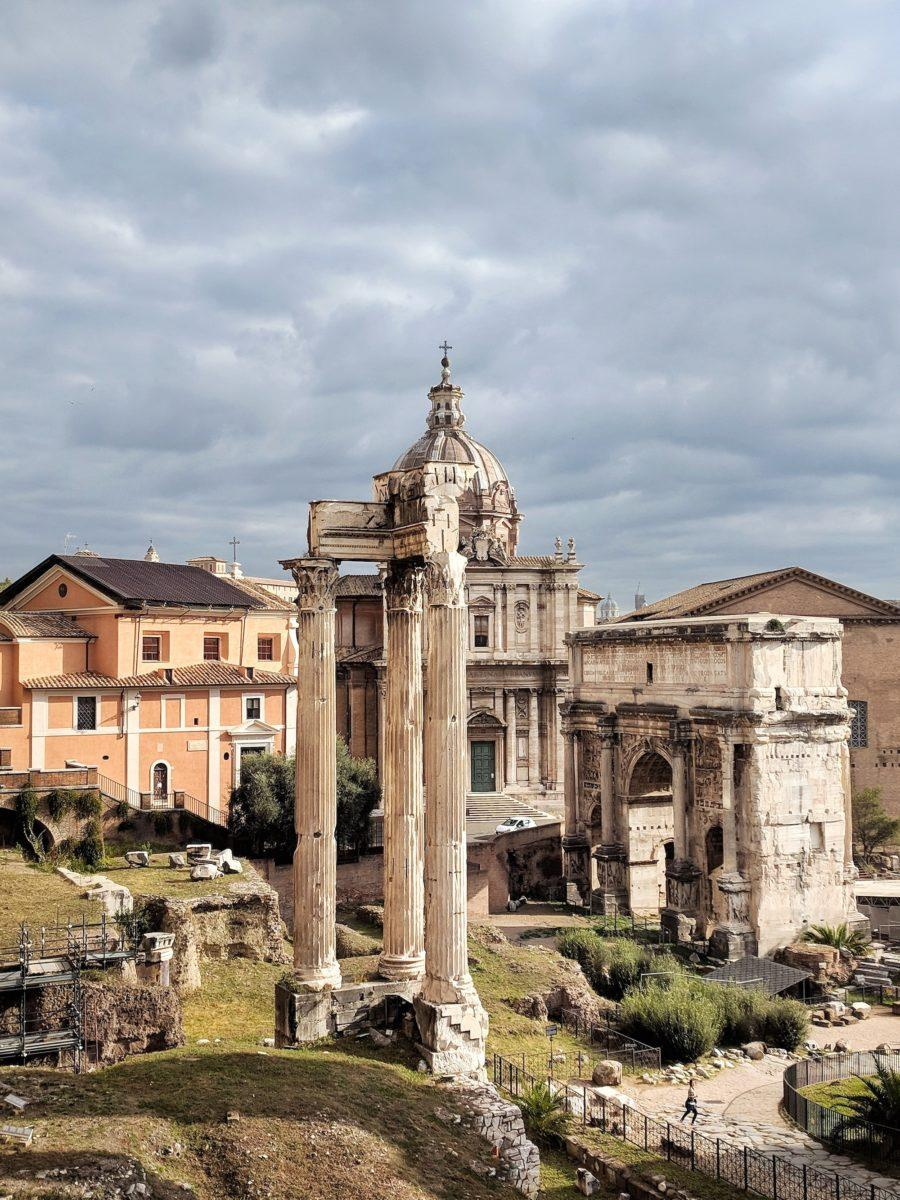 locations from roman holiday Roman Forum