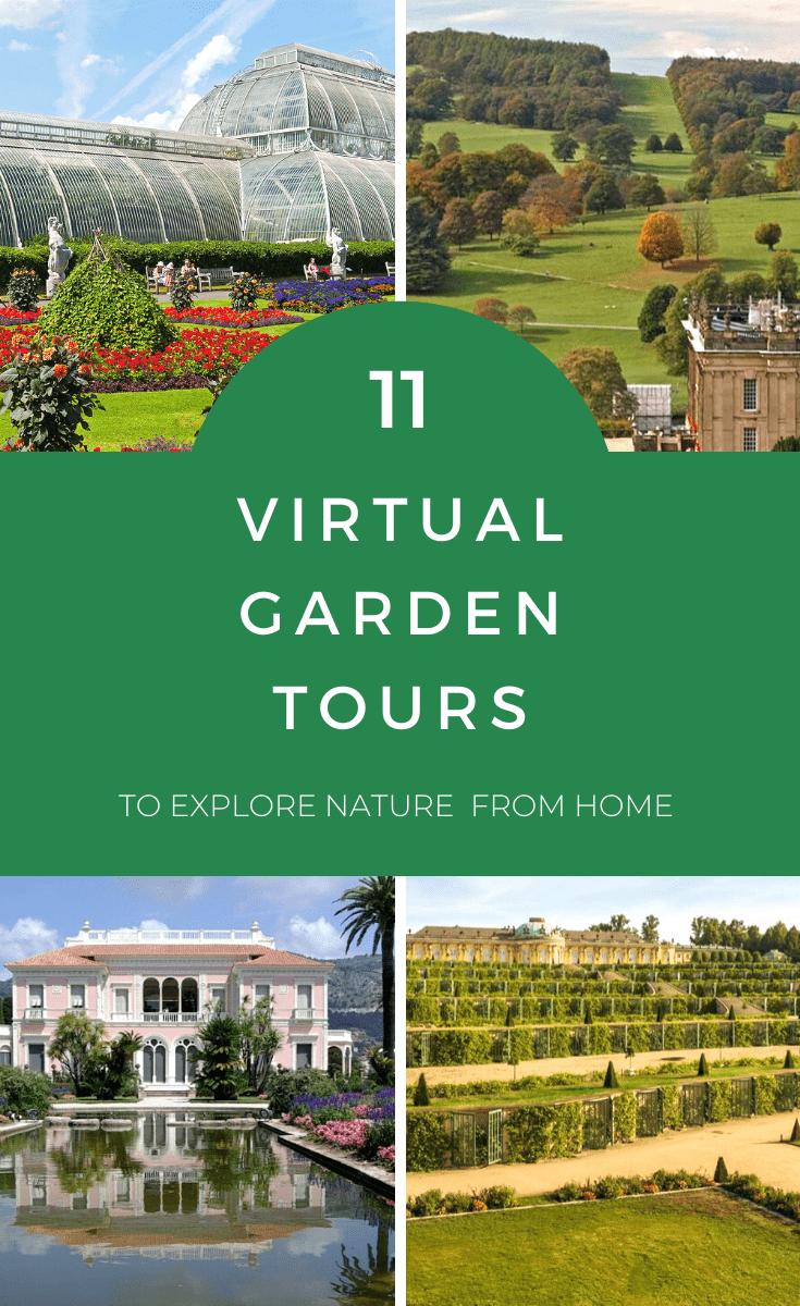garden tours online