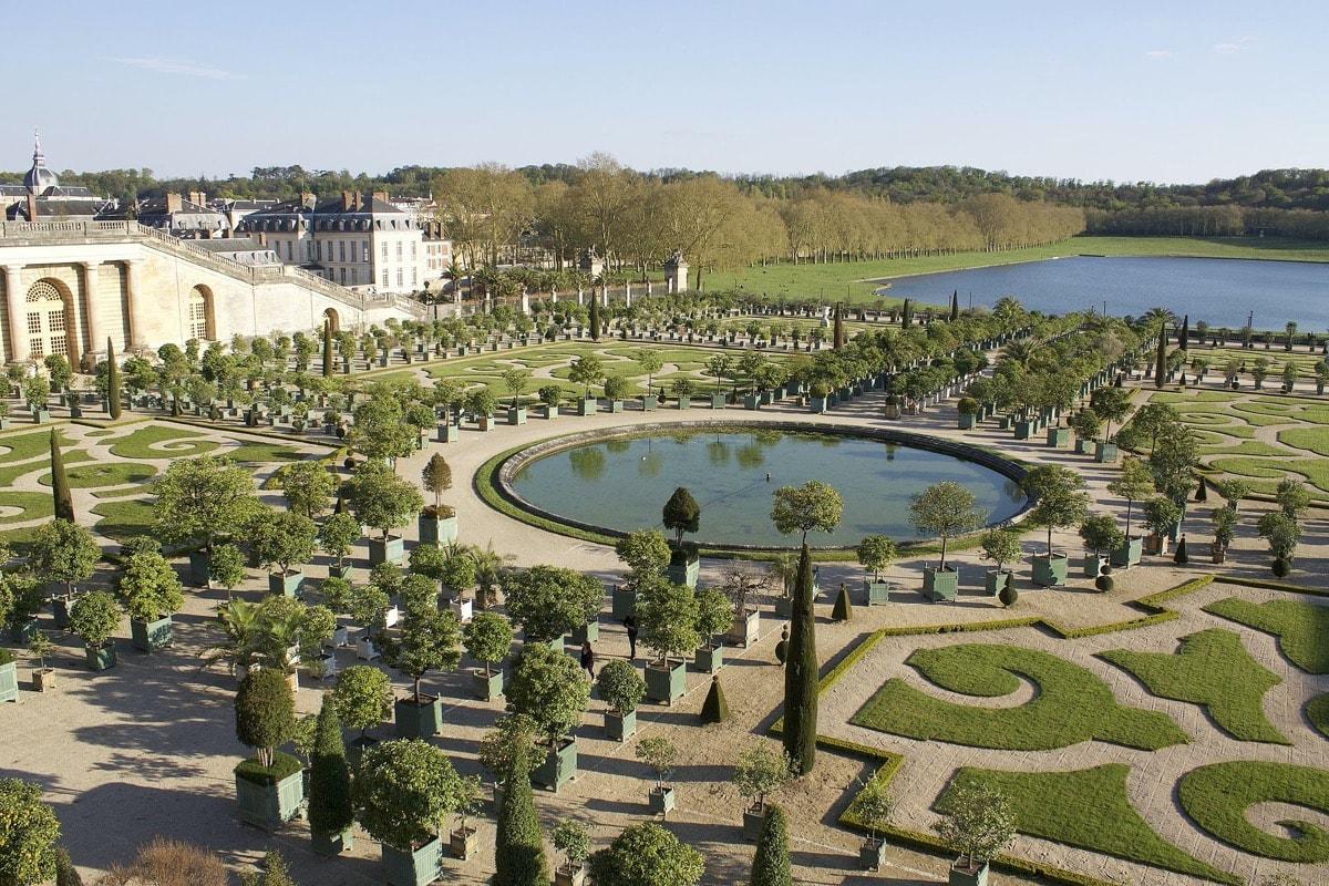 Virtual Garden Tour Versailles