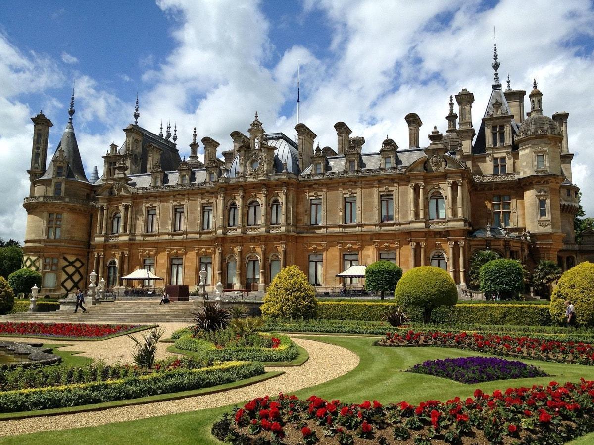 Virtual Garden Tour Waddesdon Manor Gardens