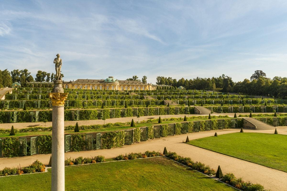Virtual garden tour Sanssouci