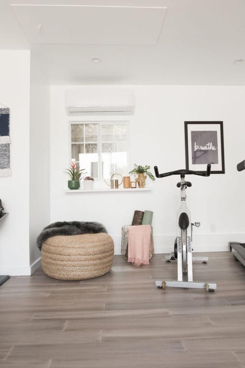 home gym ideas for decor