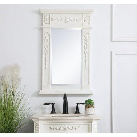 french country bathroom mirror