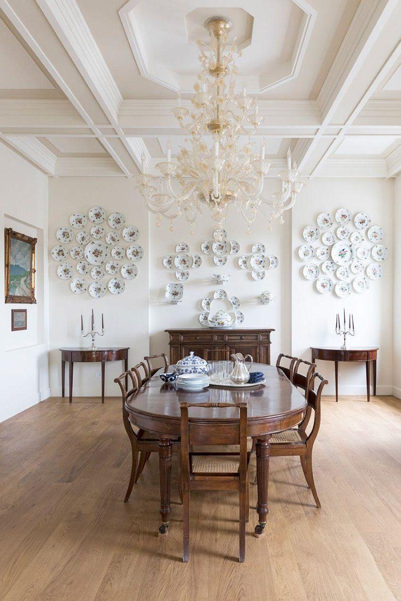 italian interior design dining room