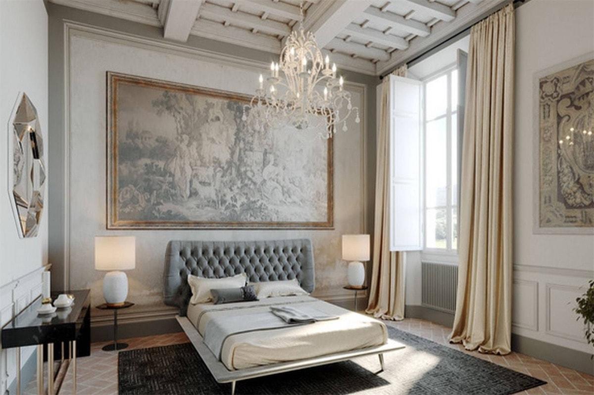 fresco italian bedroom