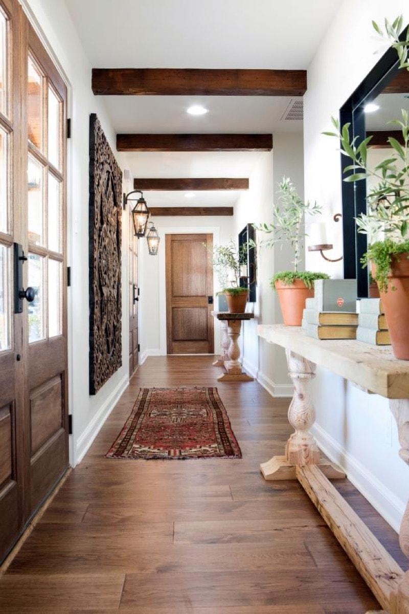 italian interior design entry way
