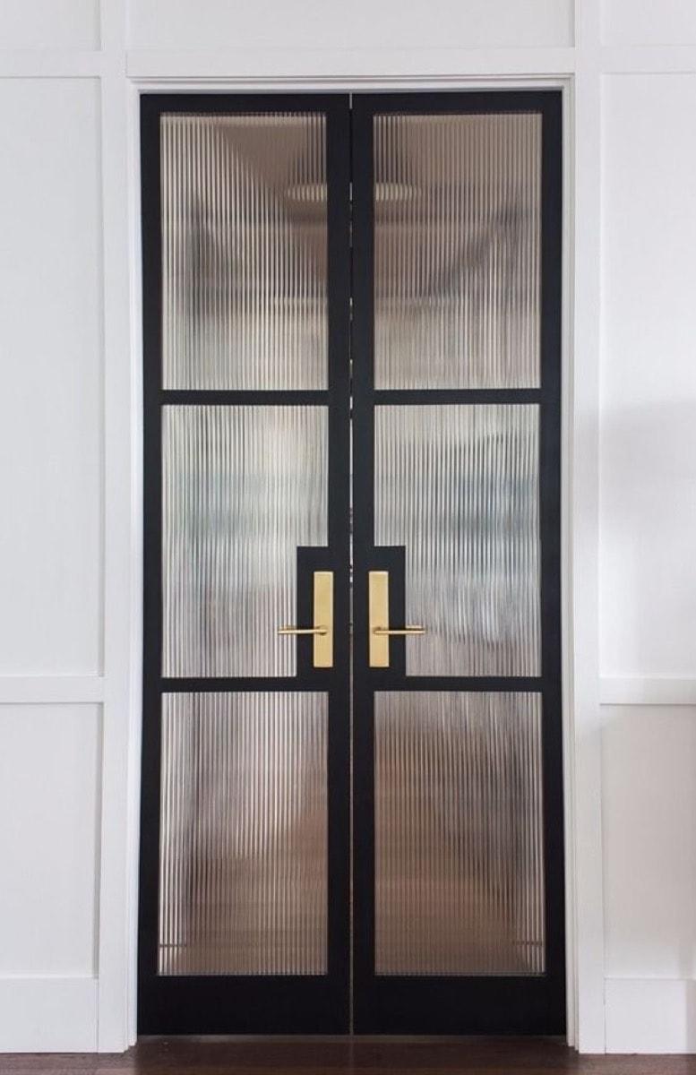 glass door brighter room