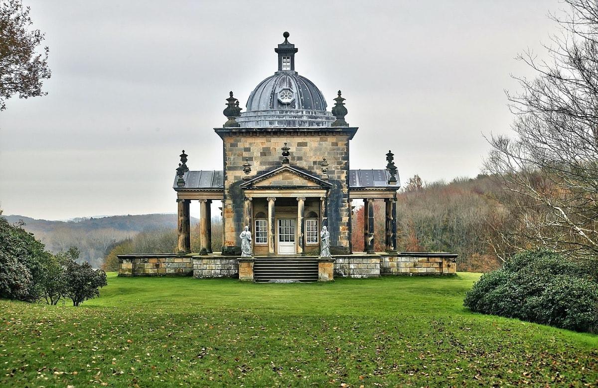 Temple of the Four Winds, Castle Howard - England garden follies