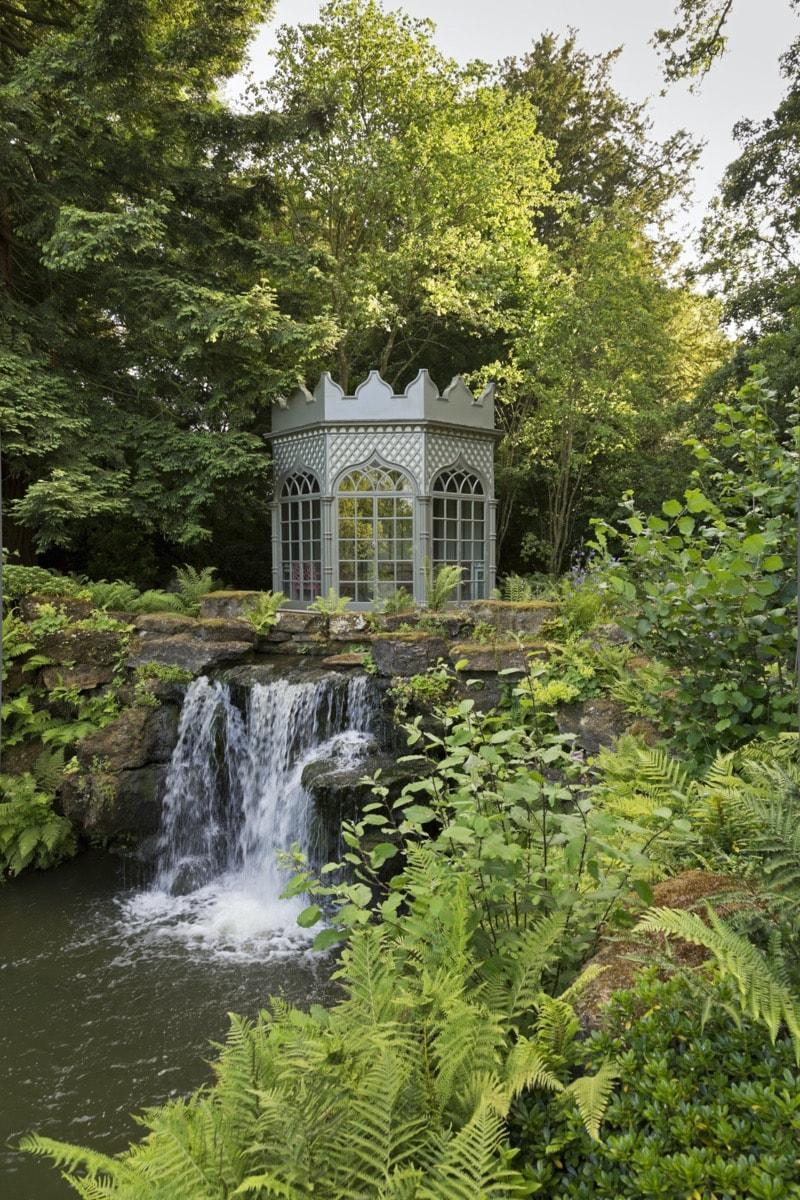 The Summer House At Woolbeding Gardens - garden follies