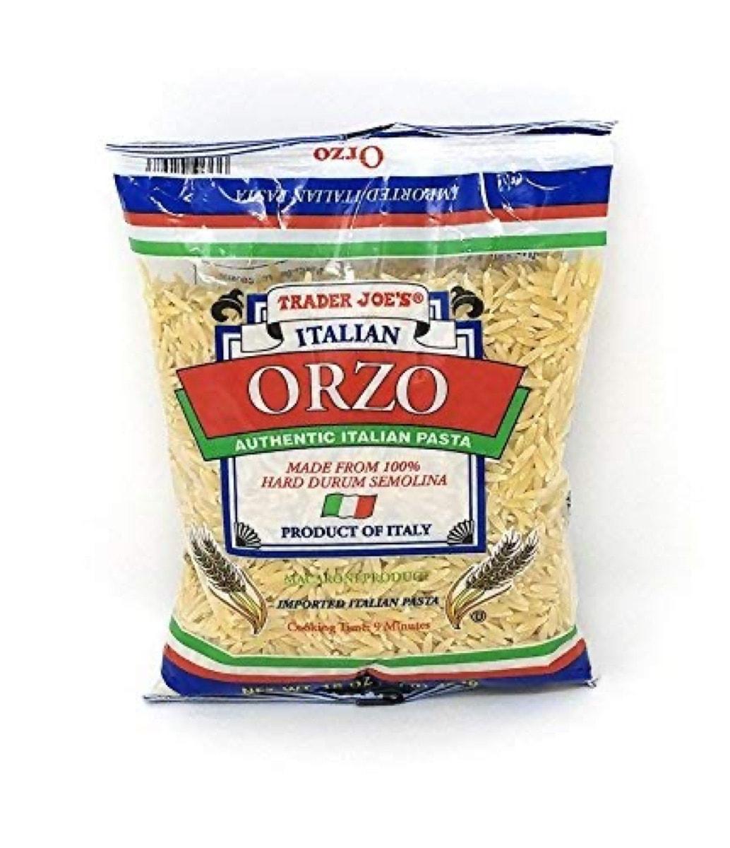 Trader Joe's Orzo pasta