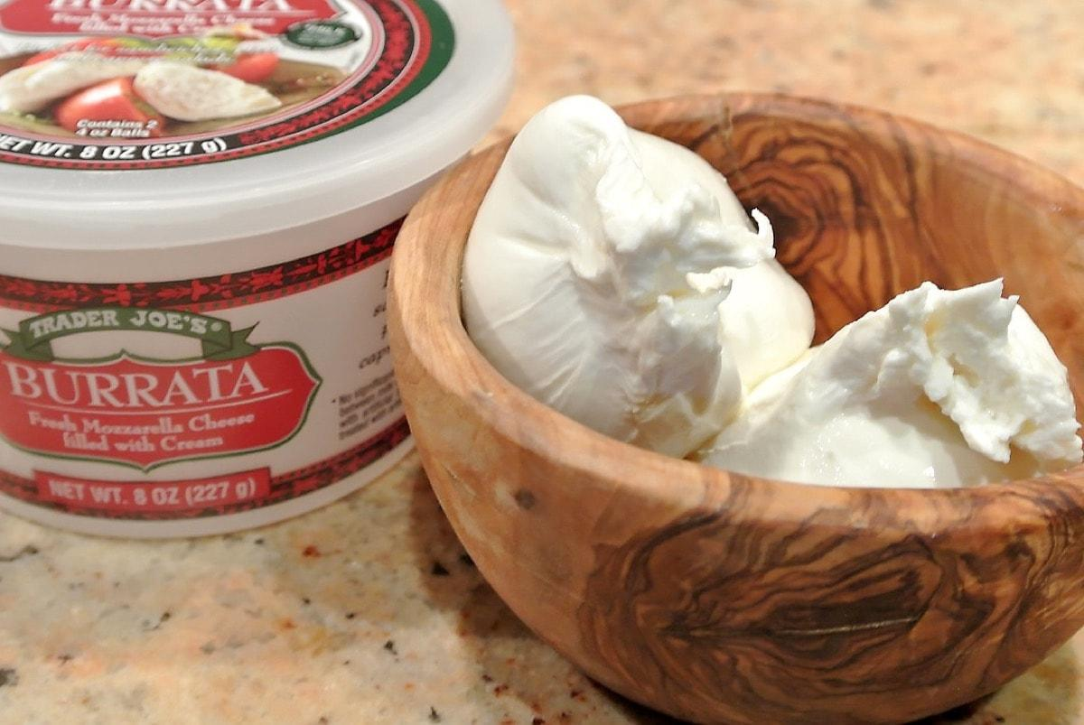 Trader Joe's Italian foods Burrata