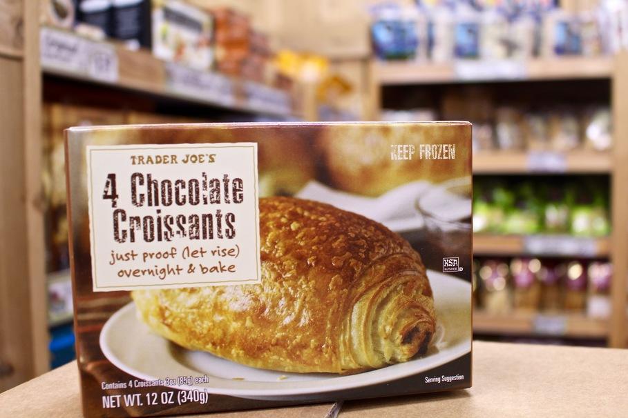 Trader Joe's Chocolate Croissants