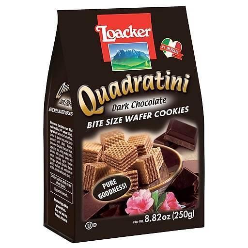 Loacker Quadratini Dark Chocolate Italian Foods from Trader Joe's